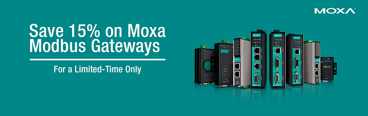 Moxa MGate POS Rebate Promotion