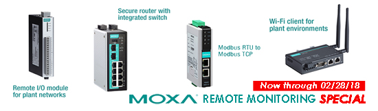 Moxa Remote Monitoring