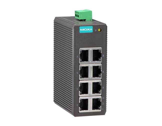 Moxa Eds 208 P Entry Level Unmanaged Ethernet Switch