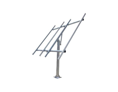 TPSM-250x4-TP - Complete Top of Pole mount for two or four 250W solar panels.Includes flange base pole and anchors. by Tycon Systems