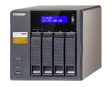 QNAP TS-453A-4G-US - TS-453A 4-Bay Professional-grade NAS  Intel