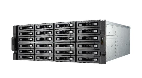 TS-EC2480U-E3-4GE-R2-US - 24-Bay 10GbE iSCSI NAS, 4U, SATA 6G, 4 x