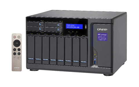QNAP TVS-1282-i5-16G-US - High Performance 12 bay (8+4) NAS