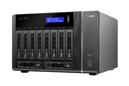 TVS-EC1080+-E3-32G-US - 10-Bay Edge Cloud Turbo vNAS, SATA