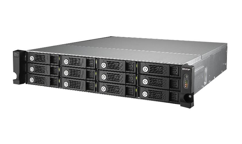 QNAP UX-1200U-RP-US - 12-bay rack expansion enclosure with hot